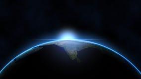 Indiański subkontynent - India od przestrzeni Zdjęcie Royalty Free