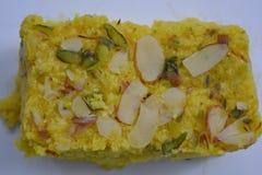 Indiański tradycyjny Mangowy słodki deser Zdjęcia Royalty Free