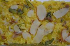 Indiański tradycyjny Mangowy słodki deser Zdjęcie Royalty Free