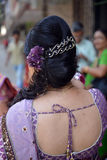 Indiański Włosiany styl Zdjęcie Royalty Free