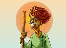 Indiański wieśniak Zdjęcie Stock