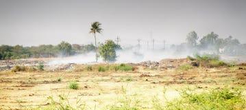 Indiański wioska usyp pali obrazy royalty free