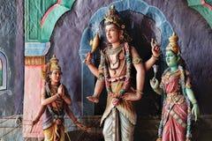 Indiańskie bóstwo statuy w Batu Zawalają się, Malezja obrazy royalty free