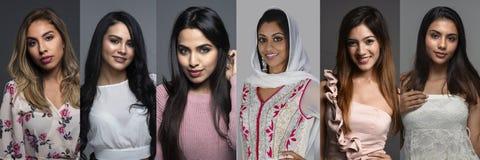 Indiańskie kobiety W grupie zdjęcie royalty free