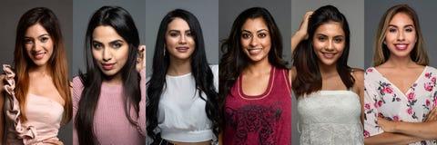 Indiańskie kobiety W grupie zdjęcia royalty free