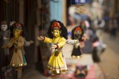 Indiańskie kukły w sklepie zdjęcia stock