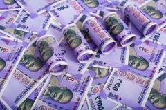 Indiańskiej rupii banknoty zdjęcie stock