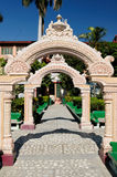 India. The world capitol of YOGA. Rishikesh in India Stock Photography