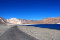 北部India湖 免版税图库摄影