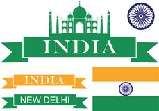 India Imagem de Stock Royalty Free