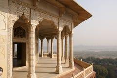 India, Agra, Czerwony fort (UNESCO światowe dziedzictwo) Fotografia Stock