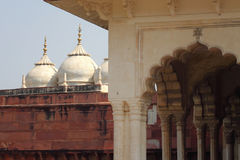 India: Agra Red Fort Royalty Free Stock Image