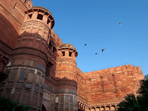 India. Agra. Red fort. Royalty Free Stock Photo