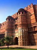 India. Agra. Red fort Stock Image