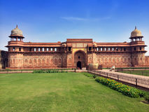 India. Agra. Red fort. Stock Photo