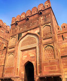 India. Agra. Red fort. Stock Photos