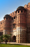 India. Agra. Red fort. Stock Image