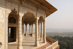 India, Agra, Red fort (UNESCO World Heritage) Stock Photo