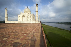 India, Agra, Taj Mahal. Memorial Stock Photos