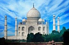 India, Agra - Taj Mahal. stock photography