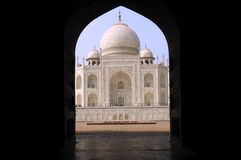 India, Agra: Taj Mahal Royalty Free Stock Photography