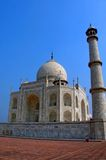 India, Agra: Taj Mahal Stock Photo