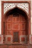 India, Agra: Taj Mahal Mosque Stock Image