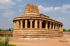 India - Aihole Stock Afbeelding