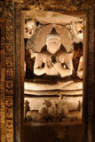 India, Ajanta cave Stock Photography