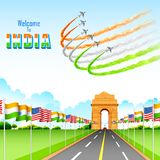 India-America relationship Stock Images