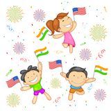 India-America relationship Stock Image