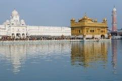 India, Amritsar, Golden temple royalty free stock photo