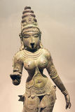 India ancient bronze statue Stock Image