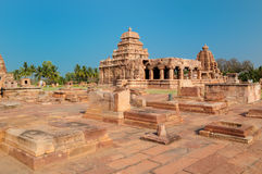 India, ancient ruins - Pattadakal stock photos