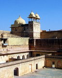 India Architecture Amber Fort Royalty Free Stock Photo