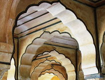 India Architecture Arches Stock Images