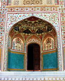 India Architecture Decorative Alcove Stock Image