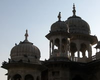 India Architecture Exterior Domes Stock Photography