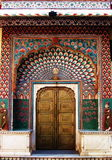India Architecture Exterior Doorway Stock Photography