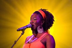 India.Arie 1 Royalty Free Stock Photo