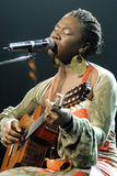 India.Arie performing live Royalty Free Stock Image