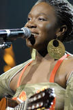 India.Arie performing live Stock Photography