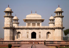 India: Baby Taj. Itimad-Ud-Daulah in Agra is a tomb of Mizra Ghiyas Beg, a persian nobleman and is also called as 'Baby Taj'. It was built between 1622 and 1628 Stock Photo