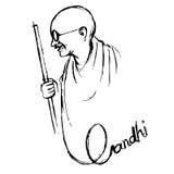India background for Gandhi Jayanti Royalty Free Stock Photography