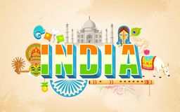 India background Royalty Free Stock Photography