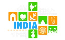 India Background Stock Photo