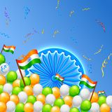 India Background Stock Image