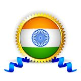 India Badge Royalty Free Stock Image