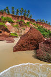 India Beach Stock Image