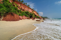 India Beach Royalty Free Stock Photos